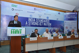 Consumers will be the end beneficiary of the ICT Standards: DeitY