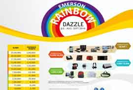 Emerson Network Power announces 'Rainbow Dazzle' program in partnership with PAYBACK