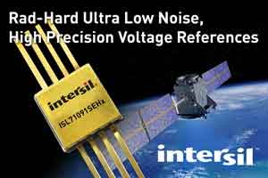 Intersil Introduces New Voltage Options for Radiation Hardened Family of Ultra Low Noise, High Precision Voltage References