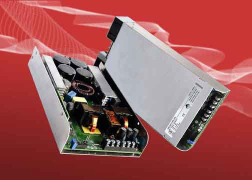 0.5/1kW AC-DC Power Supplies with High Power Density Levels