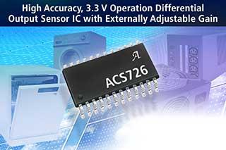 Allegro New Galvanically Isolated Current Sensor IC
