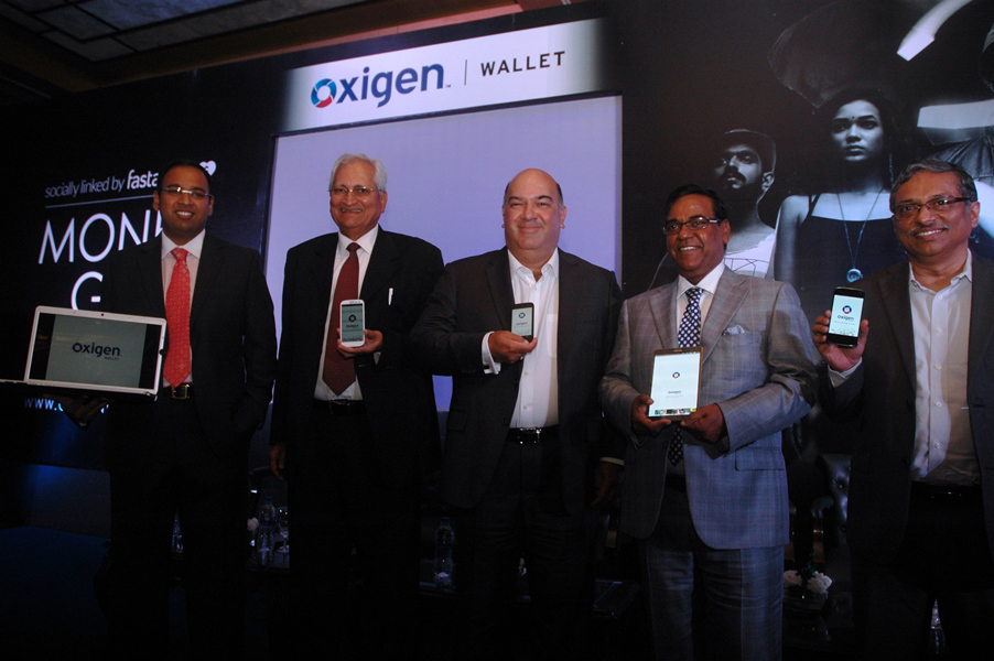 India's first mobile wallet – 'OXIGEN WALLET', now enables sharing money over social networks and messaging platforms