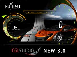 Fujitsu Semiconductor Releases New Version of CGI Studio with OpenGL ES 3.0 Support