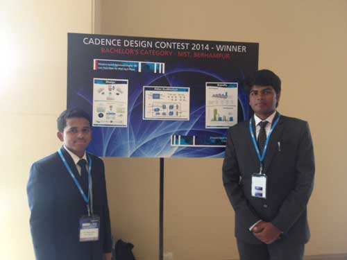 IIT Hyderabad and NIST Behrampur Win Cadence India Design Contest 2014