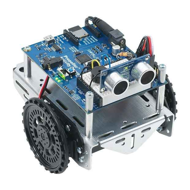 The ActivityBot uses the Propeller chip