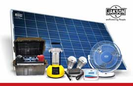 Jakson Group launches New Range of Solar Powered Products for India market