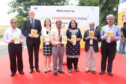 Day 1 of LASER World of PHOTONICS INDIA 2014