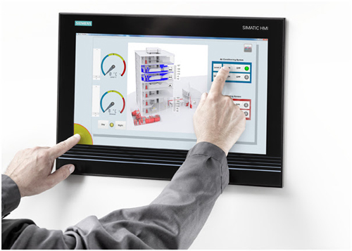 Siemens Selects TouchNetix Capacitive Touchscreens for Latest Industrial Control Panels