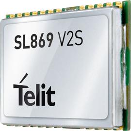 Telit Introduces Jupiter SL869-V2S GPS Module