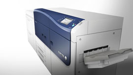 Xerox Versant™ 2100 Press for the production printing industry.