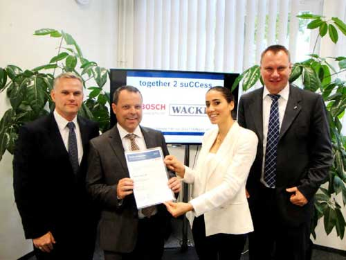 WACKER Becomes Bosch Group Preferred Silicone Supplier