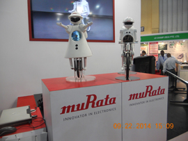 MURATA BOY And MURATA GIRL performed at electronica India