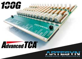ATCA® Breakthrough: Successfully Tests First 100G Technology