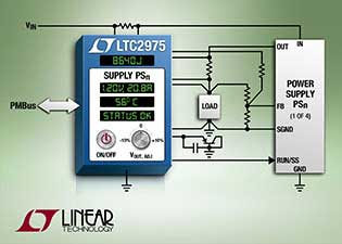 Linear Technology Announces New PMBus Digital Power System Manager