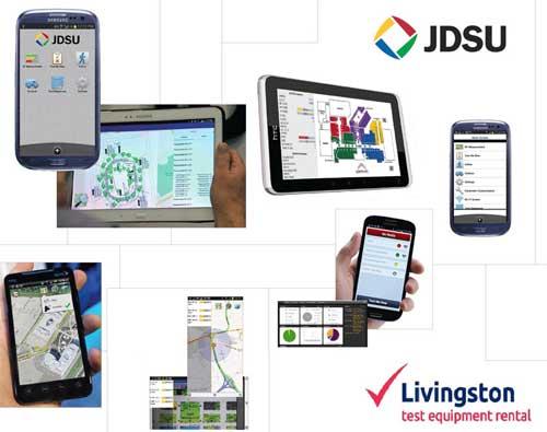 Livingston Enables Drive Testing via Smartphone