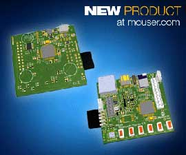 Microchip DM320018 PIC32 Bluetooth Starter Kit available from Mouser