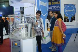 Omron displays Vision and Safety at Automation 2014