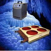 Chillers and Heat Exchangers Enhance Looped Liquid Electronics Cooling