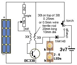 1 Watt Led Lamp Electronics Maker