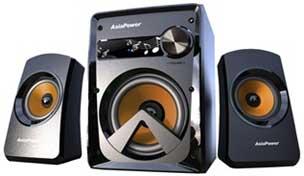 Asia Powercom PowerSound 2100 Multimedia speakers