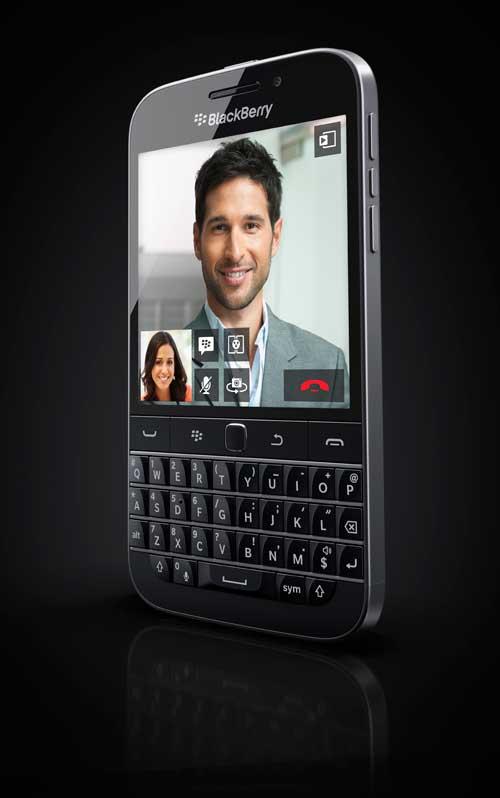 BlackBerry Classic: QWERTY Design