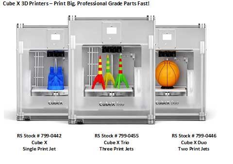 Cube X 3D Printers