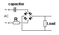 The Capacitor-fed Power Supply