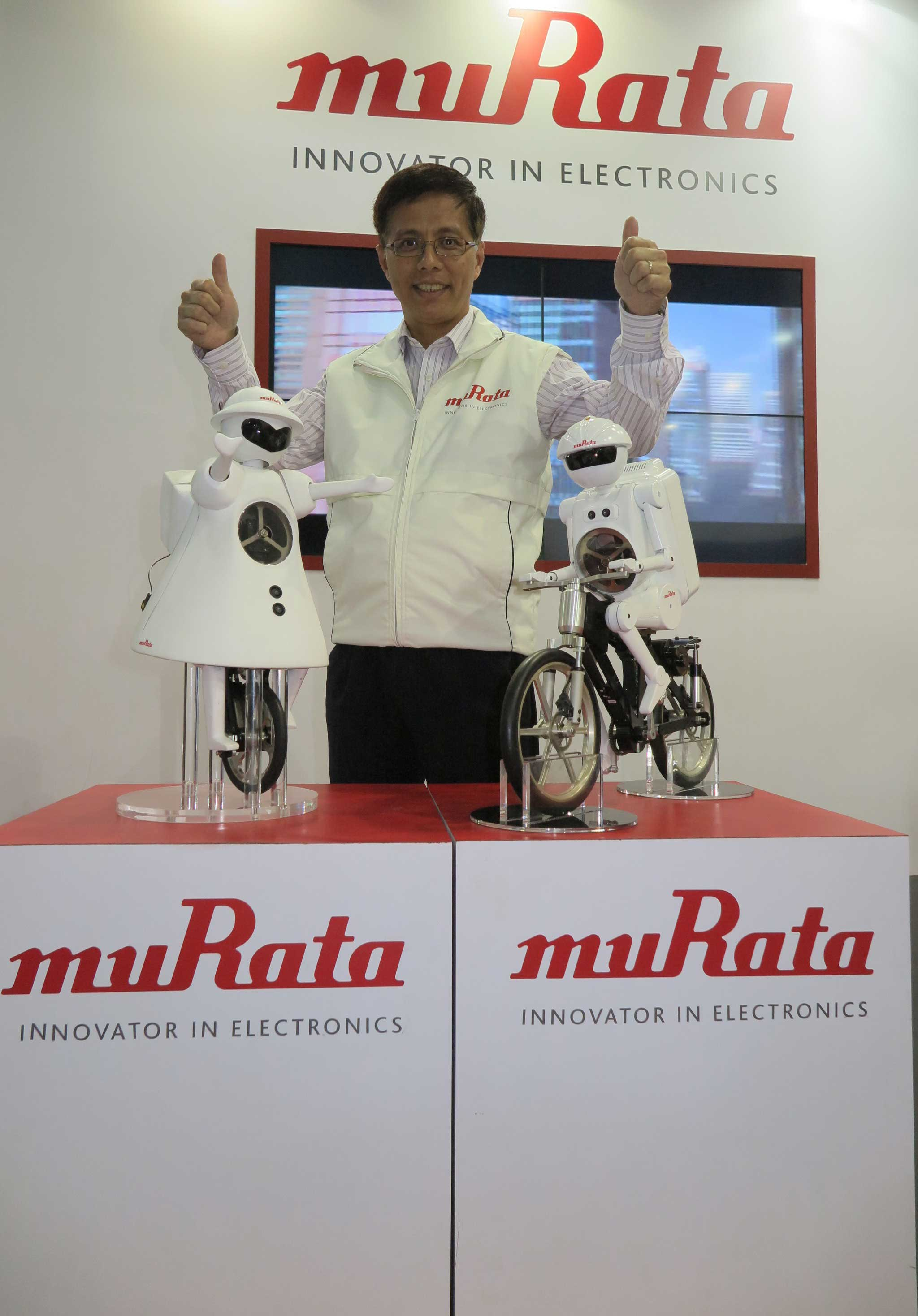 Murata Interview @ Electronica India