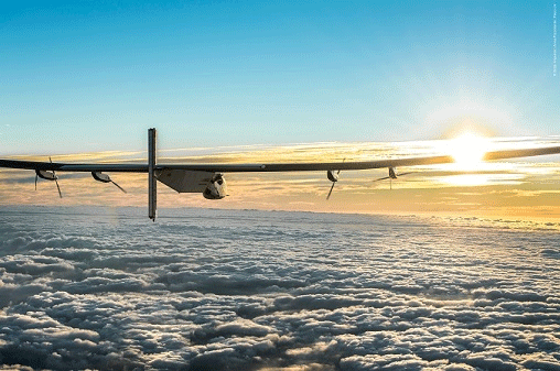 Historic Round –The World Flight powered only by energy from the sun