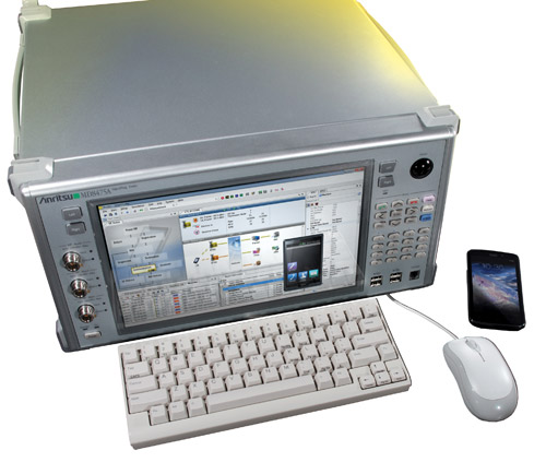 Samsung Selects Anritsu for  Automated Smartphone Testing
