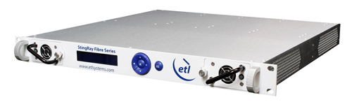 ETL Systems wil Showcase New RF over Fibre StingRay Product  at Convergence India