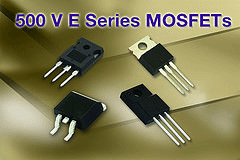 High-Voltage MOSFETs from Vishay Intertechnology Built on Gen II Super Junction Technology