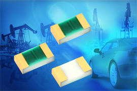 Vishay Intertechnology PATT Precision Automotive Qualified Thin Film Chip Resistor Now Available in 0402 and 1206 Case Sizes