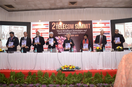 23rd Convergence India 2015 Expo ends with The 2nd Annual Telecom Summit and FTTH Council Asia Pacific Summit