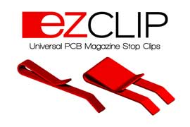 Count On Tools Introduces ezCLIP Universal Stop Clip for PCB Magazine Racks