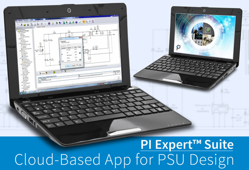 Flexible Power Supply Design Tool  available as a Cloud-Based App