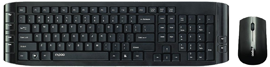 RAPOO launches 8130+, a 2.4GHz Wireless Combo with   Multimedia keyboard and mouse with invisible optical tracking