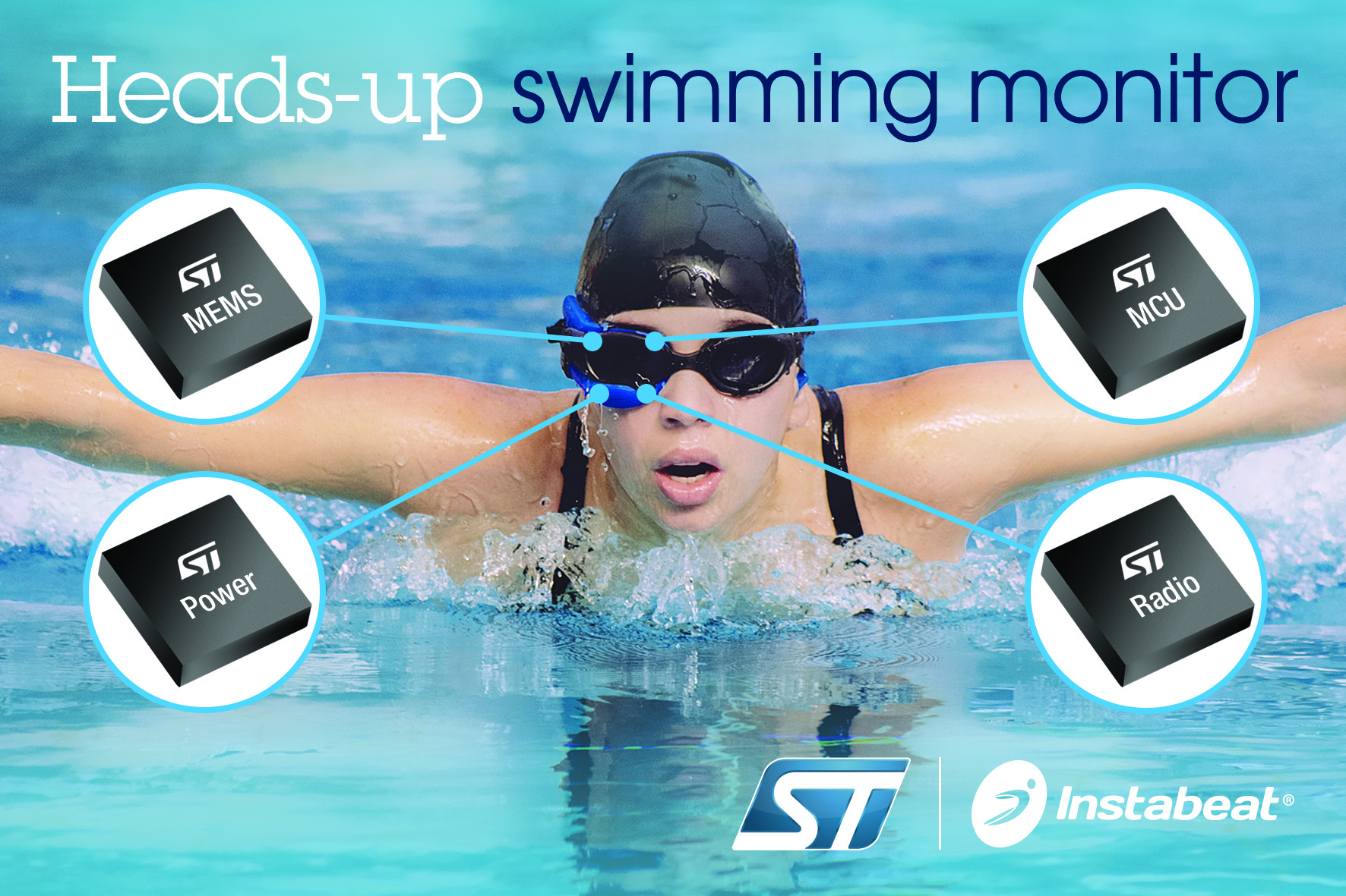 ST Enables New Waves in Swimming Aids