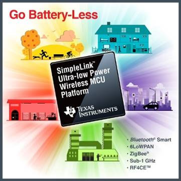 Battery-less IoT Connectivity