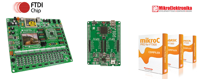 Multi-Faceted FT90X MCU Development Platform