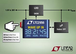 High Voltage Micropower Wake-Up Timer