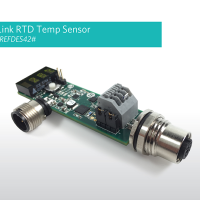 Maxim MAXREFDES42# IO-Link temperature sensor reference design