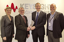 Effective engagement earns RS components the keysight technologies partner award for customer loyalty and engagement in EMEA distribution