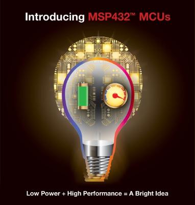 Texas Instruments introduces 32-bit MSP432™ microcontrollers (MCUs)