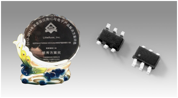 Littelfuse Product Honored with Intelligent Industry Outstanding Solution Award