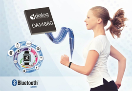 World's First Bluetooth® Smart Wearable-on-Chip from Dailog