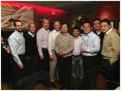 Littelfuse Executives Receive award from Arrow Electronics