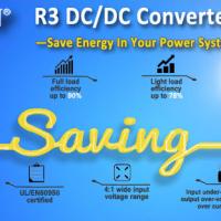 MORNSUN Wide-input R3 DC/DC Converter