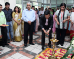 Mr. Andrew Koh, Senior Director, Image Communication Products, Canon India inaugurated the workshop at DPS R.K. Puram, New Delhi