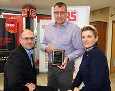 RS Components received Top Performance Awards from Tektronix